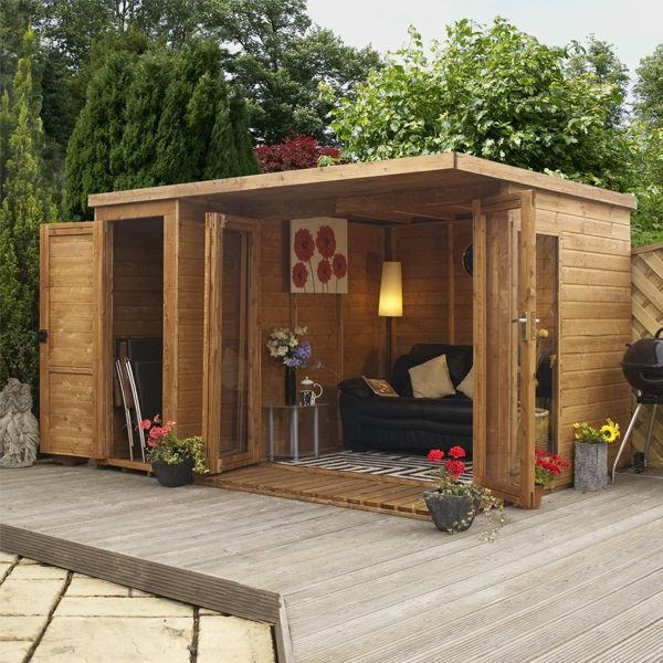 Relaxed Garden Summer House: Constructii Pentru Gradina, CASUTE Si CABANUTE Din LEMN MASIV