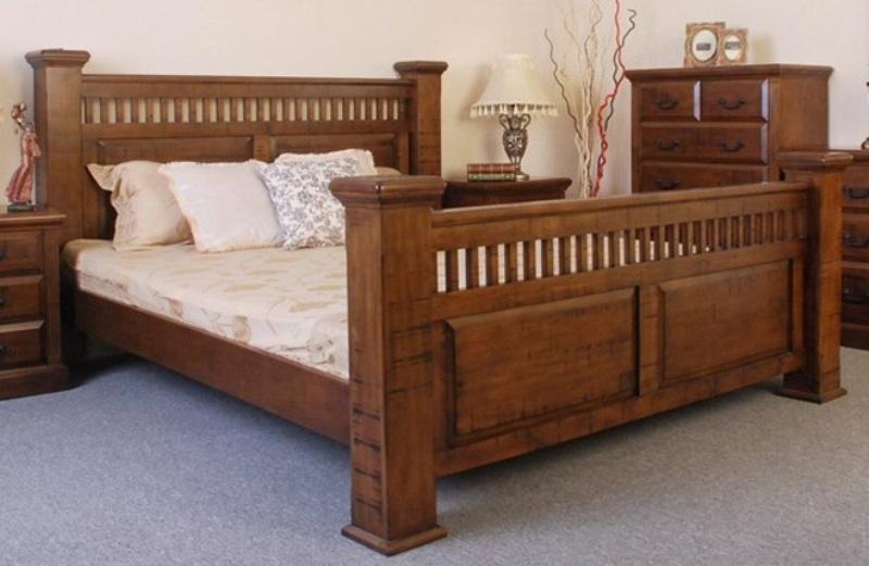 Natural Timber Bed Frames